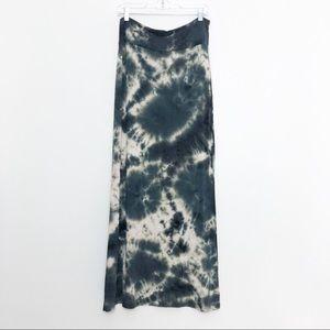 Adam Levine Tie Dye Maxi Skirt Size Medium